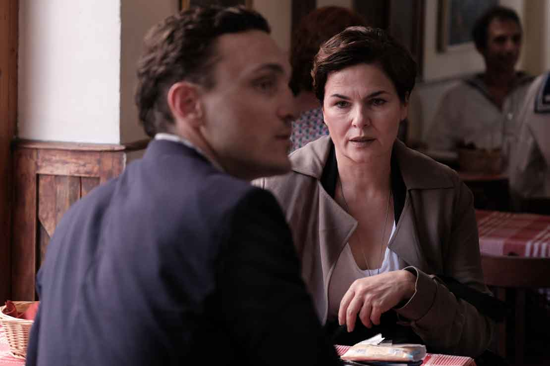 TRANSIT by Christian Petzold with Barbara Auer and Franz Rogowski